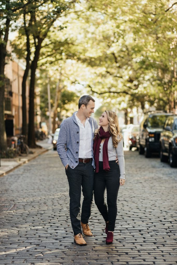 Engagement session in West Village NYC