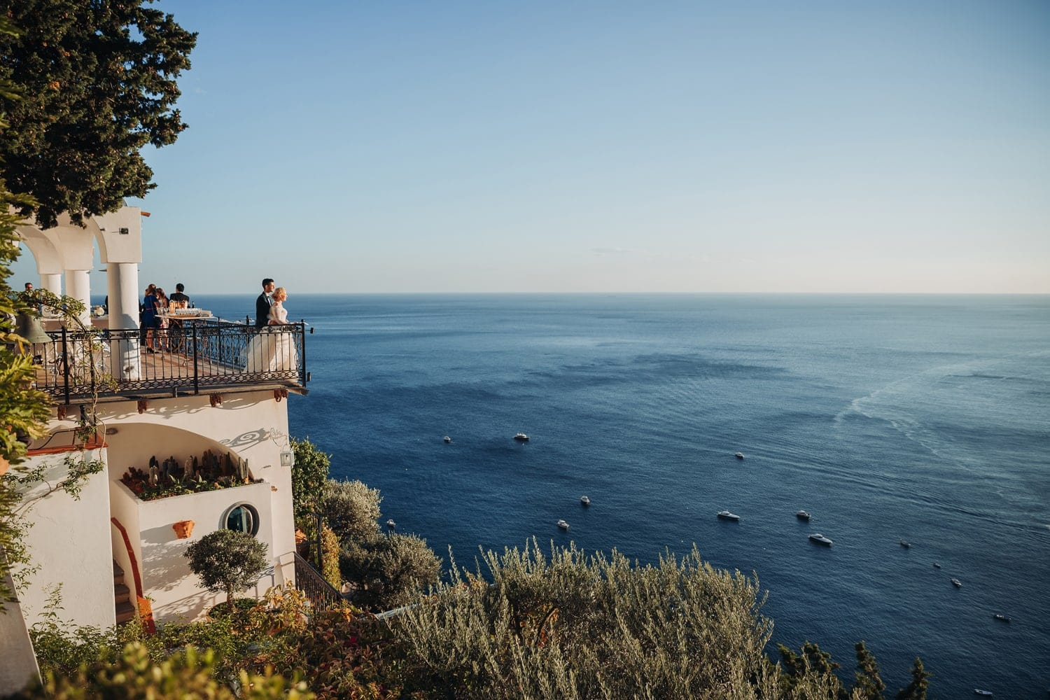 Positano wedding venue