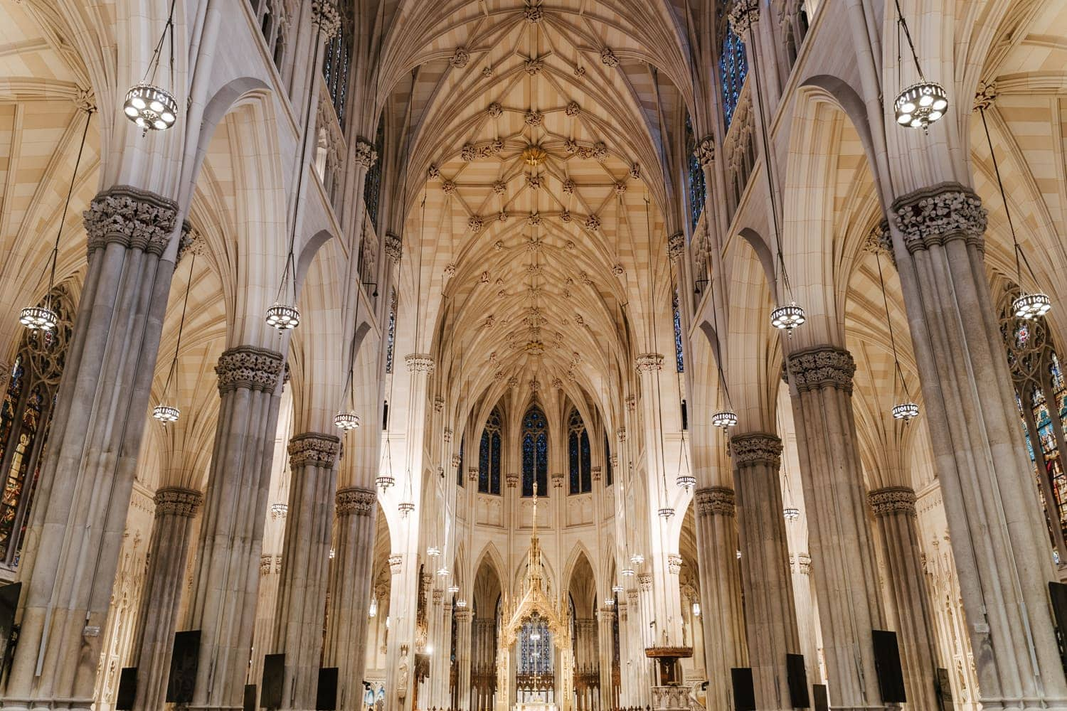 St. Patrick's Cathedral interior, NYC