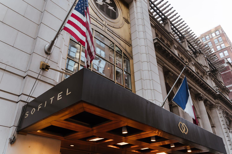 Sofitel Hotel New York entrance