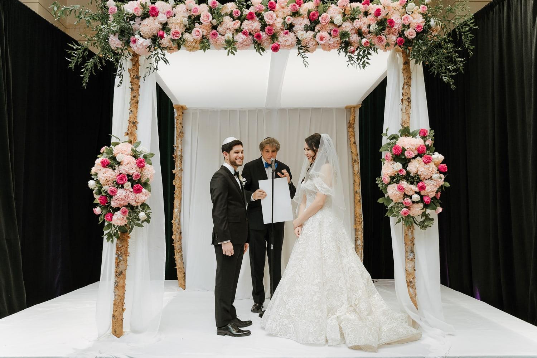 Jewish wedding ceremony at Sofitel New York