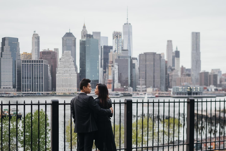 Brooklyn Heights Promenade-engagement